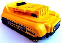 (1) Genuine Dewalt 20v Dcb203 2.0 Ah Max Xr Battery 20 Volt For Drill, Saw