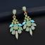 1Pair-Women-Multicolor-Rhinestone-Crystal-Resin-Ear-Stud-Eardrop-Dangle-Earring thumbnail 4