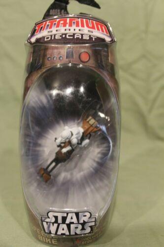 Micro Machines Star Wars Titanium Series Die Cast Action Figure Toys NIB