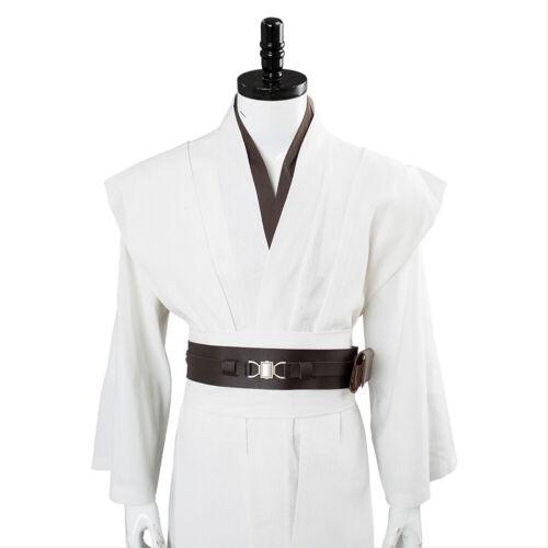Star Wars Jedi Master Obi-Wan Kenobi Ben Tunic Suit Cosplay Costume Cloak//Robe