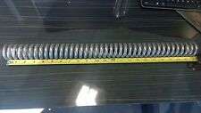 """.28"""" Diameter, 22""""L Stainless Steel Wire Compression Spring (Lot Of 2)"""