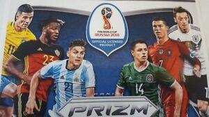 Panini-Prizm-World-Cup-WM-2018-choose-5-cards-Karten-auswaehlen-rare