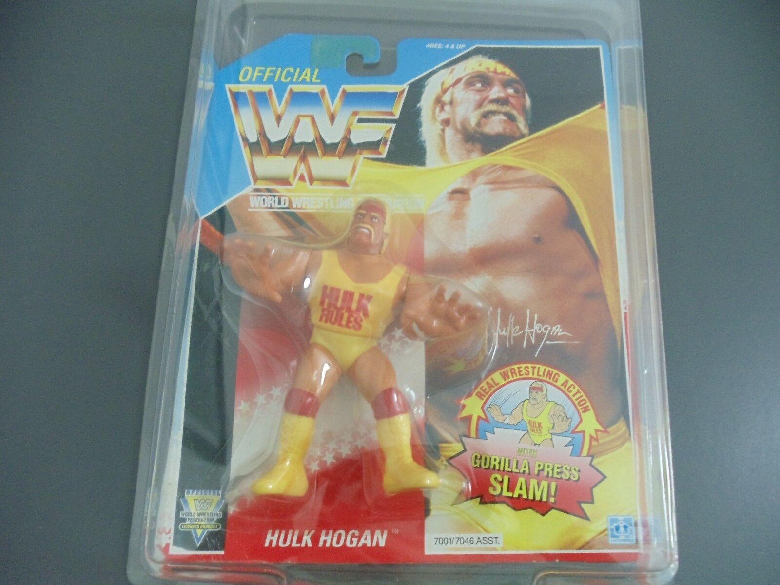 WWE WWF HULK HOGAN HASBRO MOC ACTION FIGURE