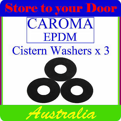 Silicone Seating Washer 6 x Caroma Cistern Washers Fix Repair Leaking Toilet