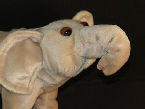 Cute Animal Planet Discovery Channel Plush African Elephant Stuffed