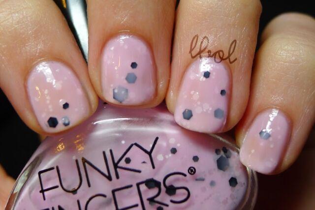 Funky Fingers Nail Polish An13 Pop Artist Fuchsia Hot Pink Lovely