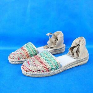 Carmen Saiz Damen Schuhe Espadrilles Sandalen Damenschuhe GR 41 Freizeischuh Neu