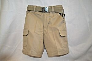 b8d4e439a U PICK FRENCH Toast Khaki SHORTS Uniform BOY SZ 7 Cargo SCHOOL Girl ...