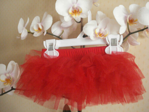 Baby Girls Party RED 6 layers Tu-Tu Skirt Party Photo prop 12-24months