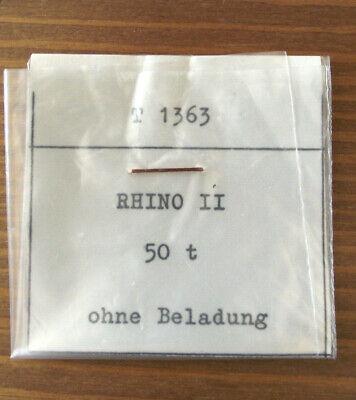 "Modellbau Hart Arbeitend 1:1250 Zubehör T 1363 "" Rhino Ii Ohne Beladung "" 50t Fährprahm /ferry Barge."