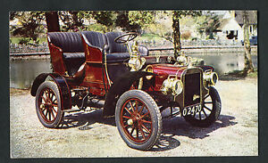 Posted-1980s-1906-Cadillac-Single-Cylinder-9-10ho-Car-at-Cheddar-Motor-Museum