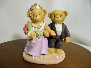 Cherished Teddies Alisa & Anthony 2002 Expo SIGNED