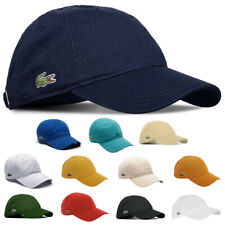 Lacoste Unisex RK9811 Adjustable Cotton Plain Cap Baseball Hat