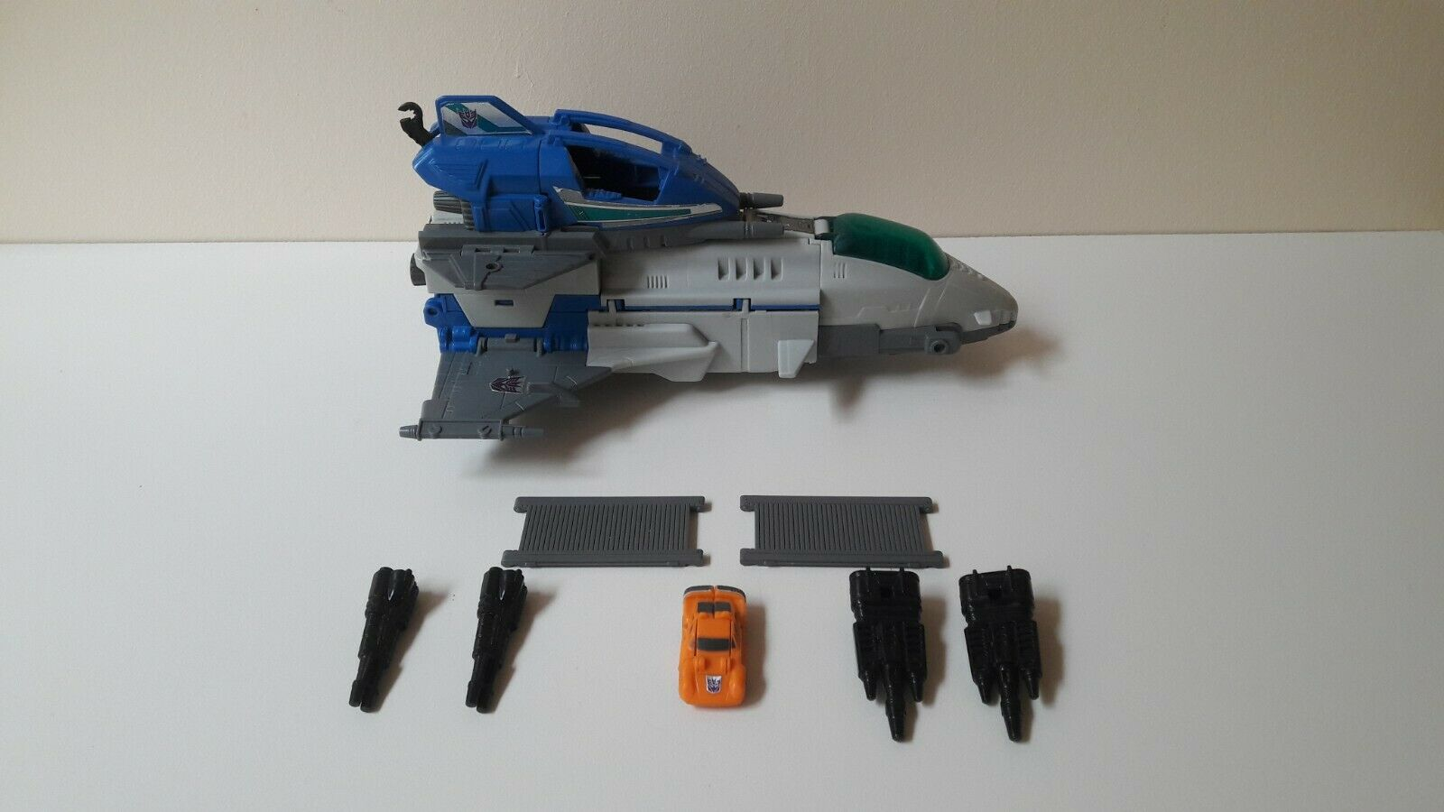 Transformers G1 Hasbro  Takara 1989 Skystalker Near Complete  authentique