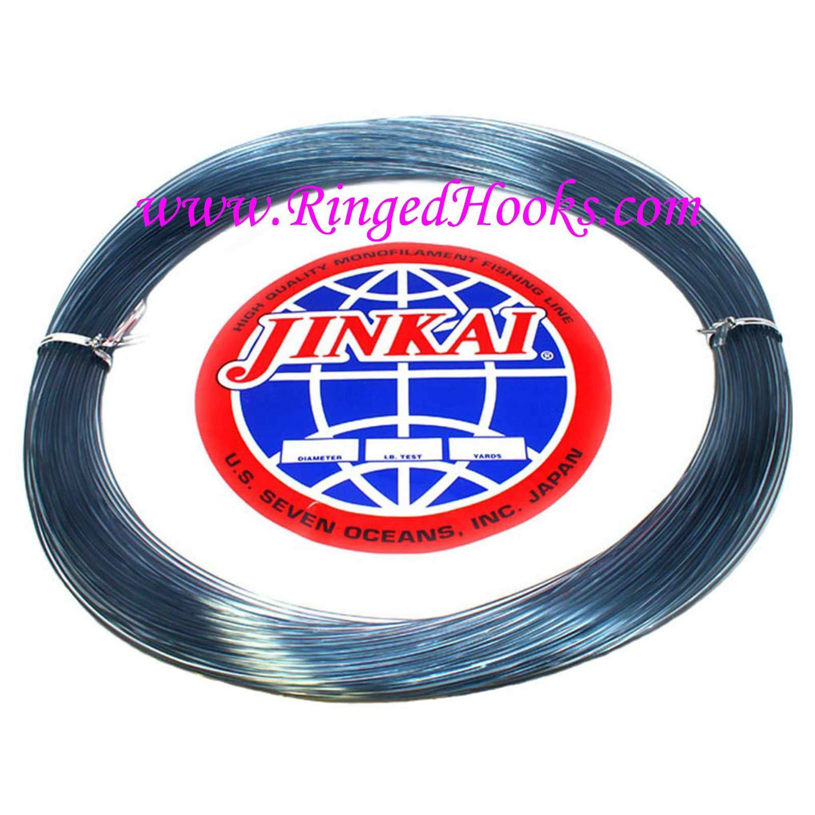Jinkai Monofiliment leader - blueE  - 100 yd. Coil - 500 lb. Test - 2.00 mm Dia.