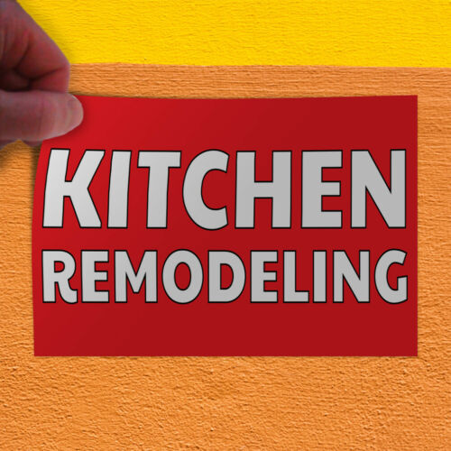 Decal Sticker Kitchen Remodeling Business Kitchen Remodeling Outdoor Store Sign