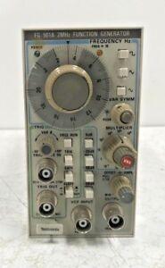 Tektronix-FG-501A-2-MHz-Function-Generator-Plug-In-FG501A