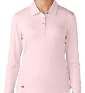 Strisce Adidas Essentials s Donna Ombra Lunga Rosa Ae9835 Polo Shirt 3 qw4TtwBUxR
