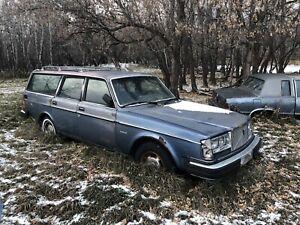 1986 Volvo 245 DL Wagon