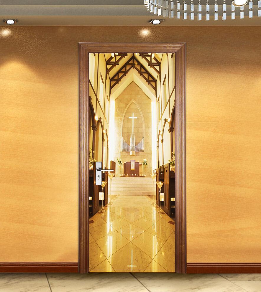 3D Kirche 75 75 75 Tür Wandmalerei Wandaufkleber Aufkleber AJ WALLPAPER DE Kyra | Online einkaufen  | Exzellente Verarbeitung  |  29b2c7