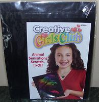 Creative Girls Club Animal Sensations Scratch-it-off