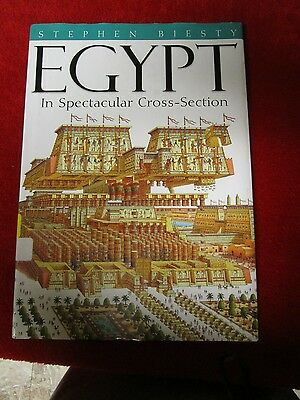 Hardcover Egypt: In spectacular cross-section,Stephen Biesty full color book