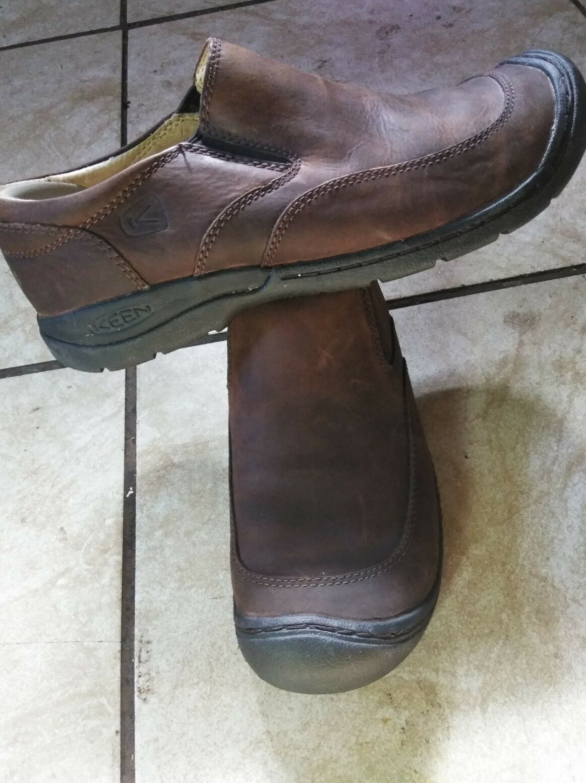 Keen men leather loafers 10