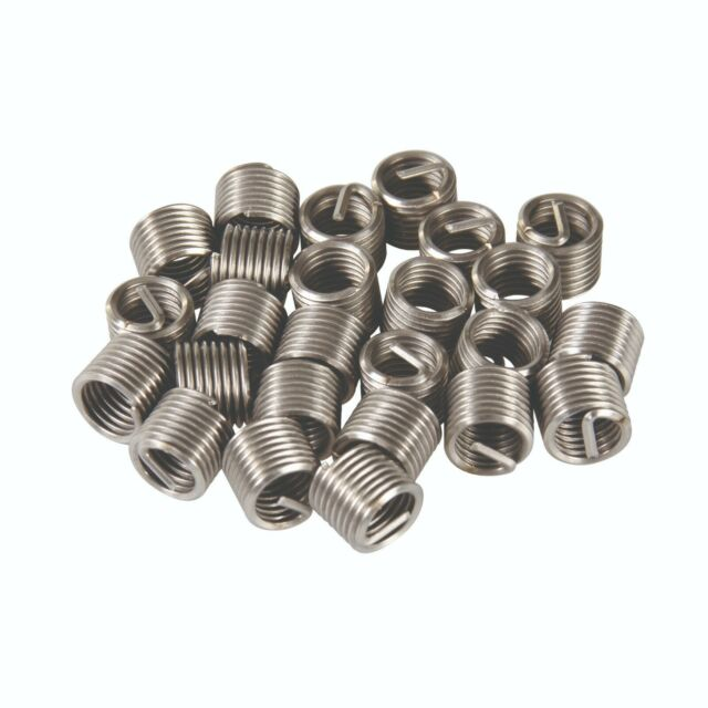 V-Coil 10 mm Thread Inserts M10 x 1.25 1.5D 10 off Helicoil Compatible