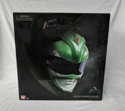 Mighty Morphin Power Rangers Legacy Green Ranger Helmet