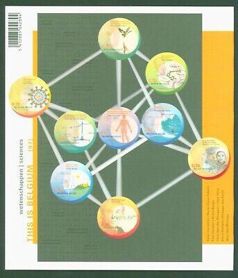 Aus Dem Ausland Importiert Belgien Belgium 2007 - Wissenschaftler Scientists Scientifiques - Nr. 3749-57 Geschickte Herstellung