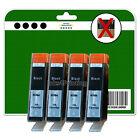 4 Negro sin chip No OEM Cartuchos De Tinta para HP 6520 B109a B109c B109d 364