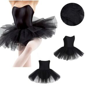 af0d8f827 Adults Ladies Womens Ballerina Leotard Skirt Dance Outfit Ballet ...