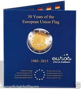 Album-PRESSO-pour-2-euros-30eme-anniversaire-du-drapeau-europeen-LEUCHTTURM