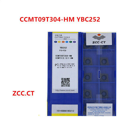 ZCC.CT 10P CCMT09T304-HM YBC251 CNC Carbide Insert  Turning Insert for Steel