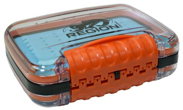 Waterproof Fly Fishing Box Double Side Foam Insert Box for Lure Baits Hooks