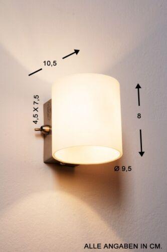 Classique Murale éclairage Avec Interrupteur Couloir Diele Cuisine Lampe Projecteur Spot