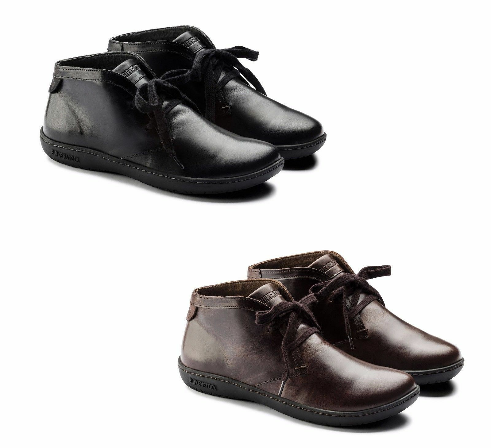 BIRKENSTOCK NERO Zapatos SCARBA ZAPATOS mujer NERO BIRKENSTOCK MARRONE PELLE SCARPONCINO LACCI 971cbb