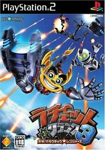 USED-PS2-PlayStation-2-Ratchet-amp-Clank-3-50842-JAPAN-IMPORT