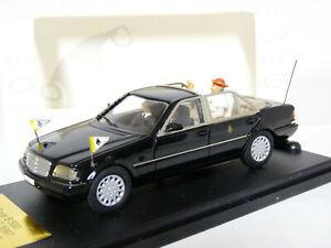 Giocher-1-43-1997-Mercedes-Benz-W140-S500-Popemobile-Diecast-Model-Car