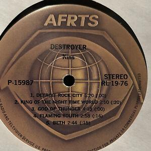 MEGA-RARE-KISS-destroyer-AFRTS-RADIO-show-STEPPENWOLF-vinyl-lp-promo
