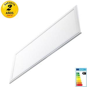 Panel LED 30x60 24W 2880LM 120lm/W Marco Blanco Luz Neutra/Fría IP40 Aluminio
