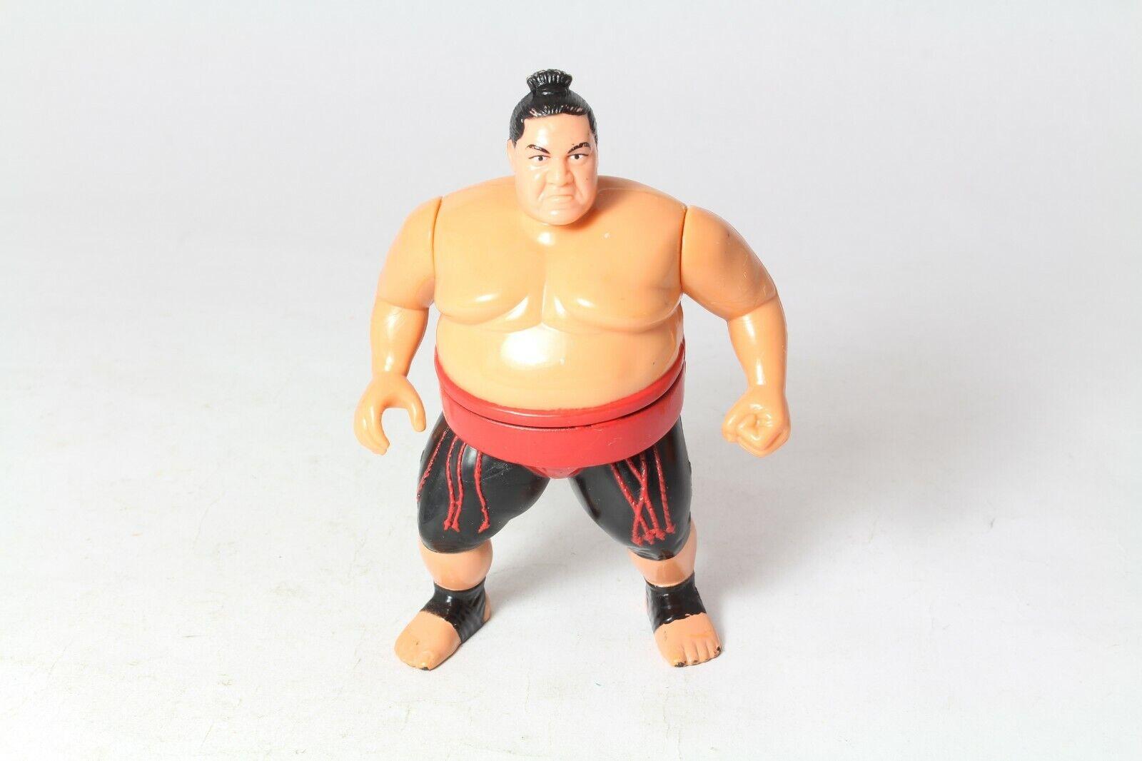 Hasbro WWF WWE Wresting Action Figure Yokozuna Series 8