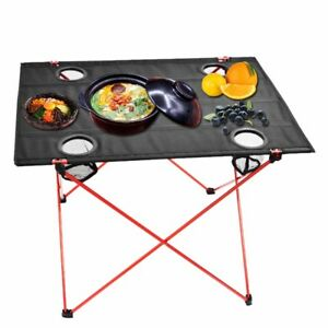 Outdoor-Camping-Folding-Table-Portable-Hiking-Travel-Picnic-BBQ-Desk-With-4-Hole