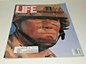 March, 1991 LIFE Magazine 1990s Advertising ads FREE SHIPPING Retro Graphics War