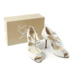 Christian-Louboutin-Python-canvas-sandals-Size-39-K-36049