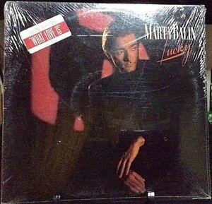 MARTY BALIN Lucky Album Released 1983 LP Vinyl/Record  Collection USA