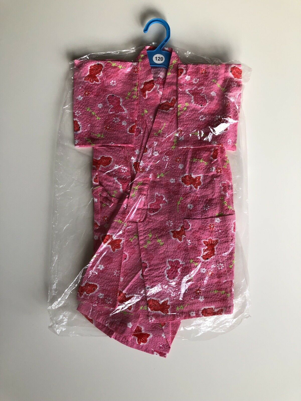 Japanese Kimono Wrap Top & Shorts For Kids 3-4 Years Old pink Cosplay UK Seller