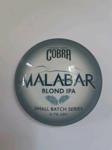 COBRA MALABAR BLOND IPA ROUND BEER PUMP OR T BAR BADGE