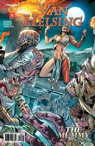 The Mummy of Amun-Ra 6 Cover A Van Helsing vs Grimm Fairy Tales
