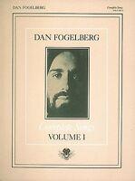 Dan Fogelberg Complete Songs Volume 1 Sheet Music Piano Vocal Guitar S 000356811